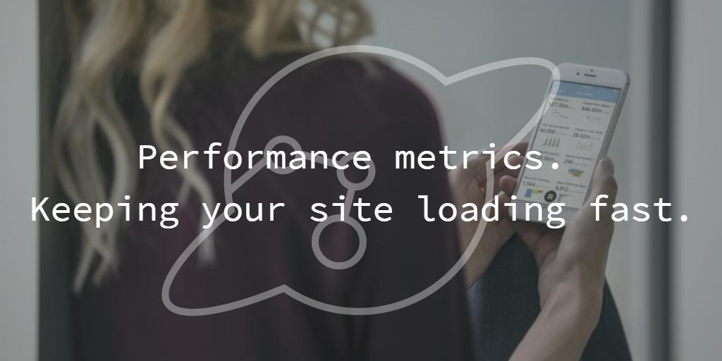 Page performance tracking metrics