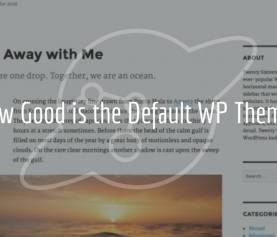 A Closer Look at the Default WordPress Theme